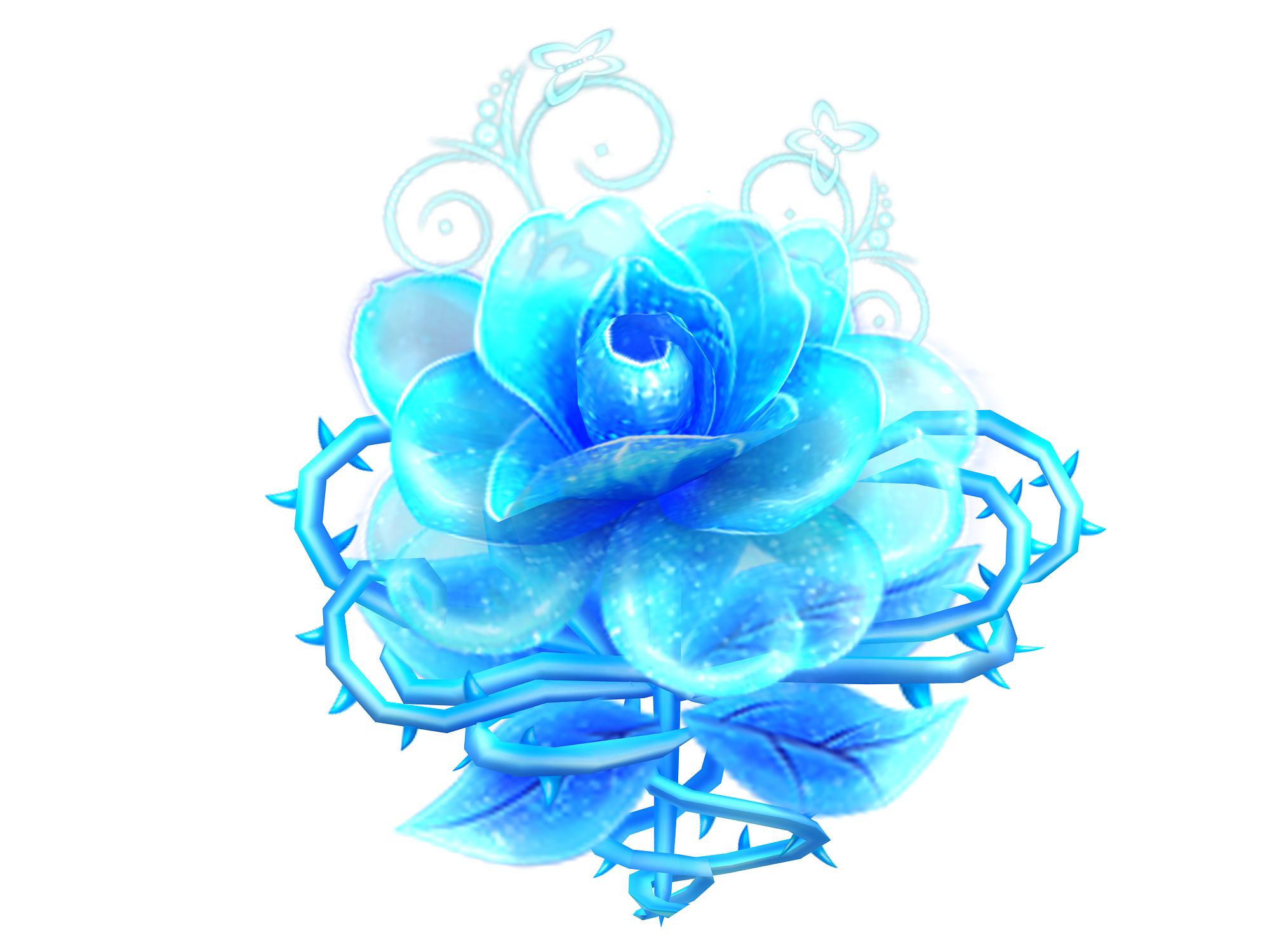 蓝色妖姬坐骑